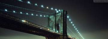New York Brooklyn Bridge Fb Cover