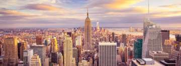 New York Sunny Cityscape Facebook Background TimeLine Cover
