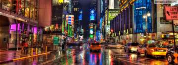 New York Times Square Facebook Cover Photo