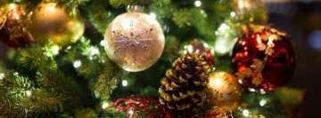 Nice Christmas Tree Facebook Cover Photo