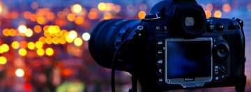 Nikon Camera Facebook Cover Photo