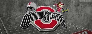 Ohio State University Buckeyes Logo Facebook cover photo