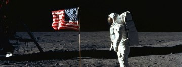 On The Moon Facebook Banner