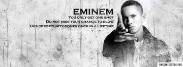 One Shot Eminem Facebook cover photo