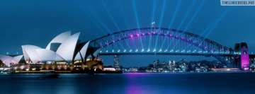 Opera House and Harbour Bridge Facebook Cover-ups
