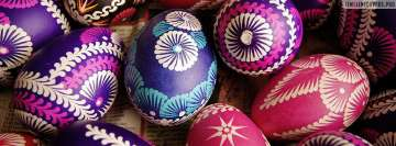 Painted Easter Eggs Facebook Cover-ups