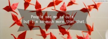 People See Me Cute Quote
