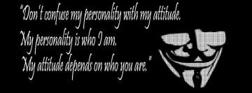 Personality and Attitude Facebook Cover Photo
