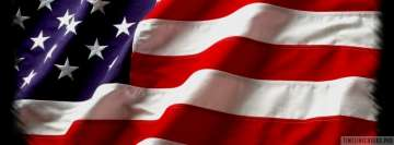 Photo of American Flag Facebook cover photo