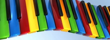 Piano Keys Facebook Background TimeLine Cover