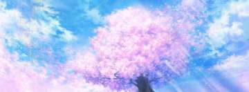 Pink Tree Facebook cover photo