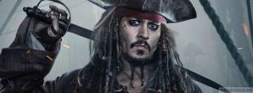 Pirates of The Caribbean Dead Men Tell No Tales Jack Sparrow Facebook Cover-ups