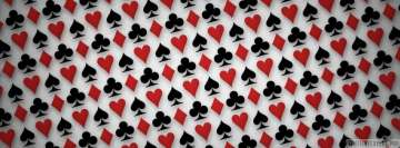 Playing Card Background Facebook Cover Photo