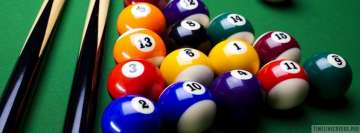 Pool Billiard Facebook Background TimeLine Cover