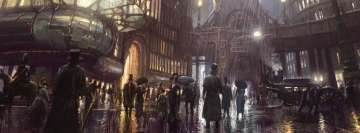 Post Apocalyptic Steampunk City Apocalypse Now