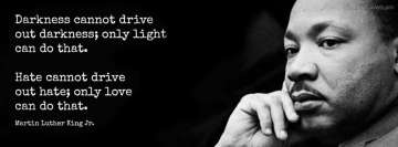 Powerful Quotes Martin Luther King Facebook Cover Photo
