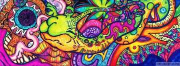 Psychedelic Snail Facebook cover photo