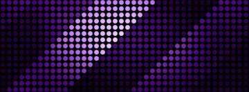Purple Dots Facebook Cover Photo