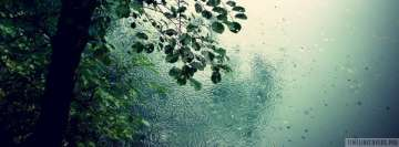 Rain at The Lake Facebook Banner