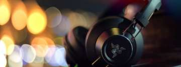 Razer Headset Facebook Cover Photo