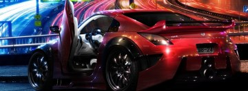 Red Nissan Facebook Cover