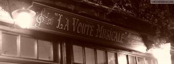 Restaurant in France Facebook cover photo