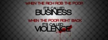 Rich vs Poor Anarchy Fb Cover