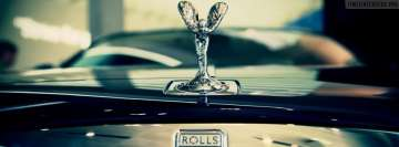 Rolls Royce Emblem Facebook cover photo