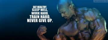 Ronnie Coleman Quote Facebook Cover Photo