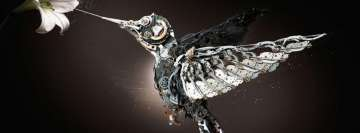 Sci Fi Steampunk Bird Facebook Background TimeLine Cover