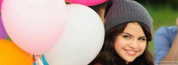 Selena Gomez Playful Smile Fb Cover