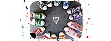 Shoes Heart Facebook Cover