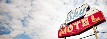 Sky Motel Facebook Wall Image