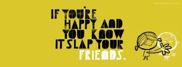 Slap Your Friends Facebook cover photo