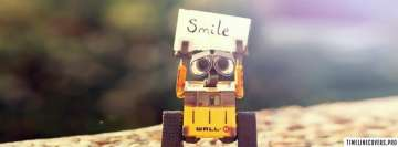Smile Wall E Facebook cover photo