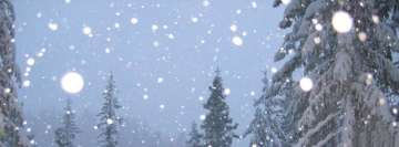 Snow Falling Facebook Background TimeLine Cover