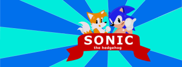 Sonic The Hedgehog Facebook Cover