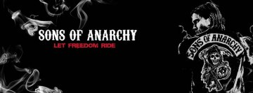 Sons of Anarchy Motorcycles Skulls Facebook Cover