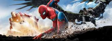 Spider Man Homecoming with Iron Man