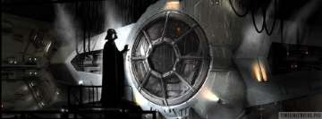 Star Wars Darth Vader at Trusty Ship Facebook Cover Photo