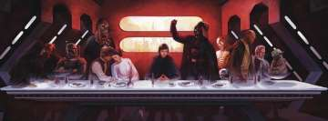 Star Wars Last Dinner Facebook cover photo