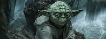 Star Wars Master Yoda Early in The Morning Facebook Cover Photo