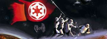 Star Wars Painting Facebook Wall Image