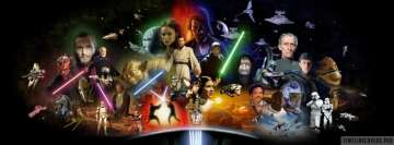 Star Wars Saga Facebook Wall Image