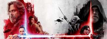 Star Wars The Last Jedi May The Force be with You Facebook Banner