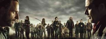 Stars of The Walking Dead Fb Cover