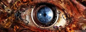 Steampunk Eye Facebook Banner
