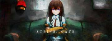 Steins Gate Makise Kurisu Facebook Cover