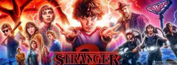 Stranger Things 2 Facebook Wall Image