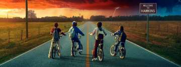 Stranger Things Caleb Mclaughlin Finn Wolfhard Gaten Matarazzo Noah Schnapp Facebook Background TimeLine Cover